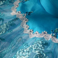 Blue Stretch tutu