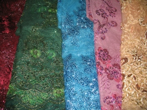 Lace selection