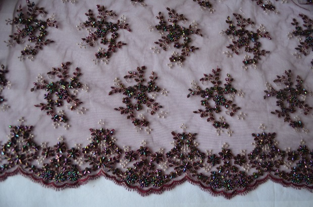 plum french lace