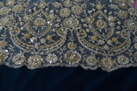 lace + velvet