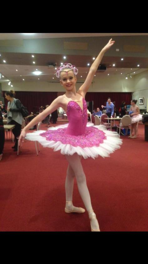 Lovely young dancer