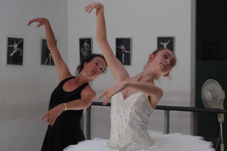 Olivia Betteridge with Lucinda Dunn