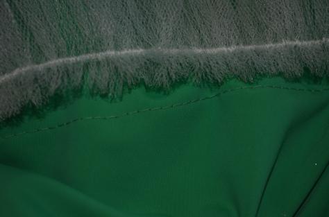 stitching line