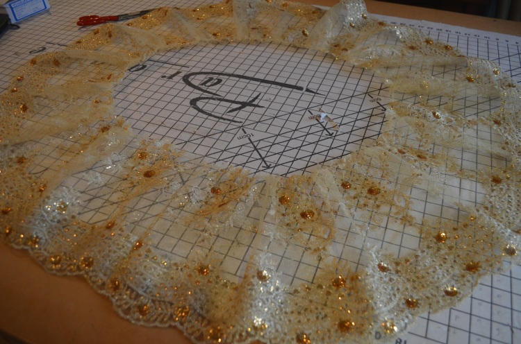 lace overskirt